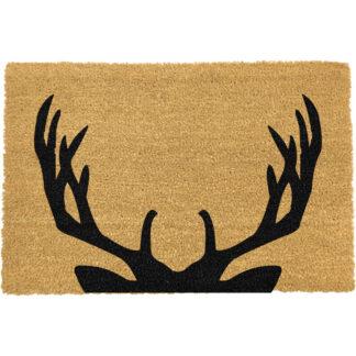 Stag Antlers Doormat