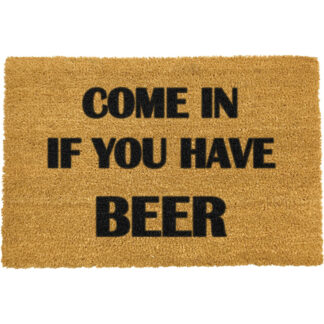 Come Again And Bring Beer Doormat