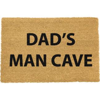 Dad's Man Cave doormat