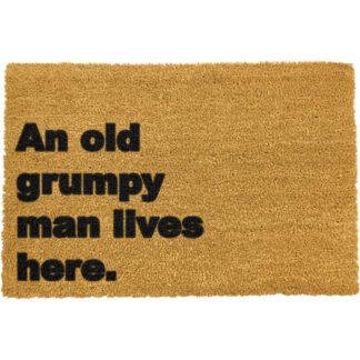 Grumpy Man Lives Here Doormat