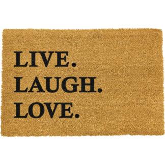 Live Laugh Love Doormat