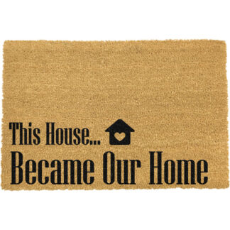 This House Became Our Home