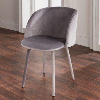 Velvet Covered Dining Chair (Set Of 2)