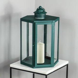 Indoor Deep Green Lantern