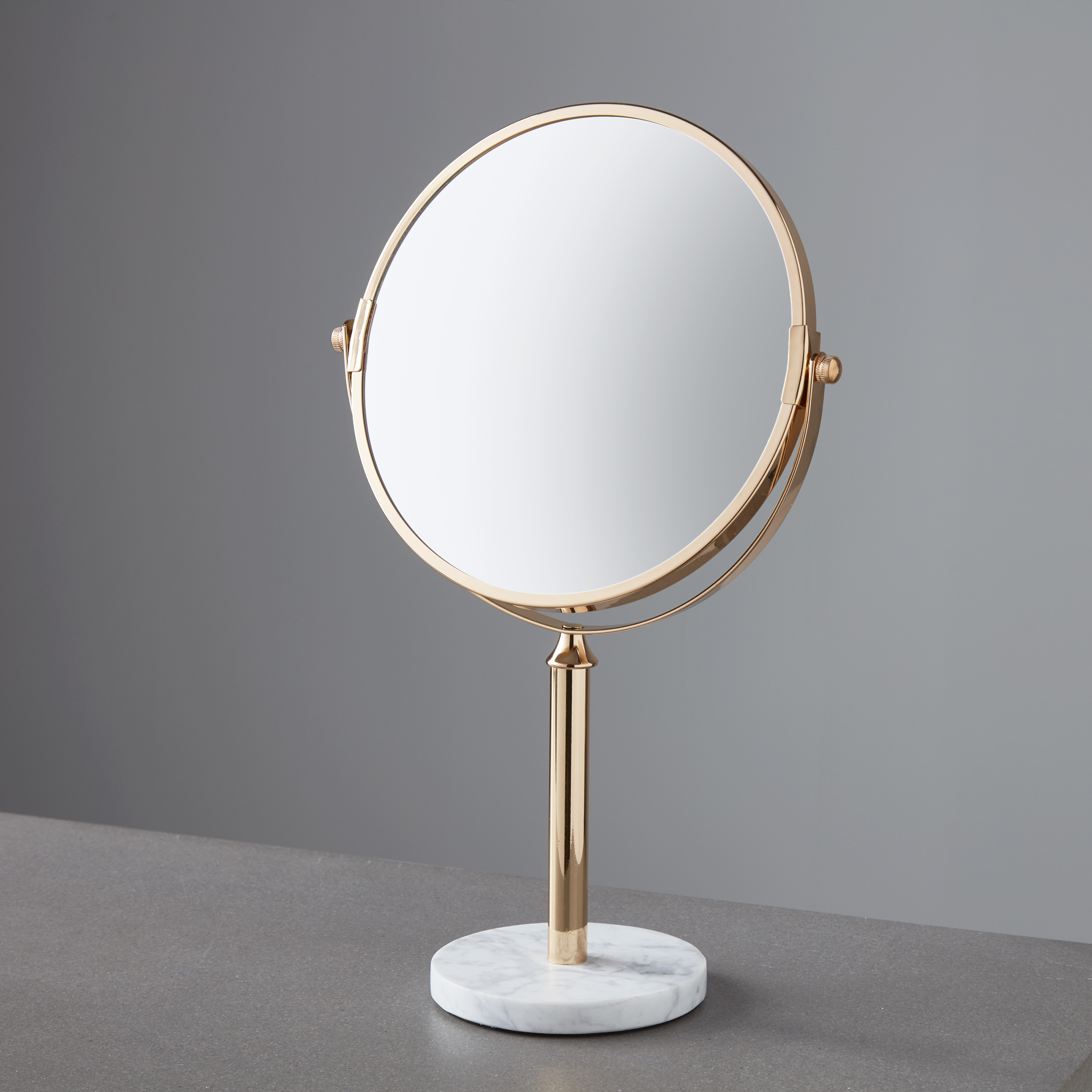 Round Marble Dressing Table Mirror Inner Home Mirrors Home Decor