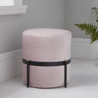 Pale Pink Stilts Stool