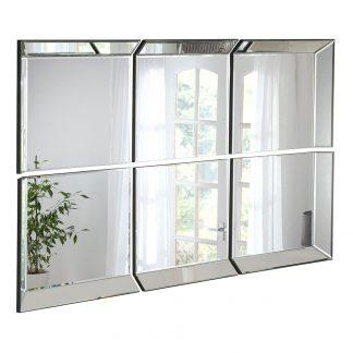 6 panel mirror uk