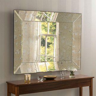 Yearn Antique Silver Mirror