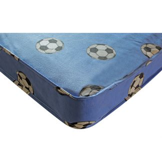 Kidsaw Football Single 3ft Mattress Blue