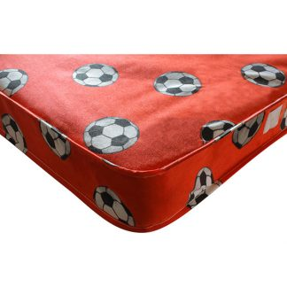 Kidsaw Football Single 3ft Mattress Red