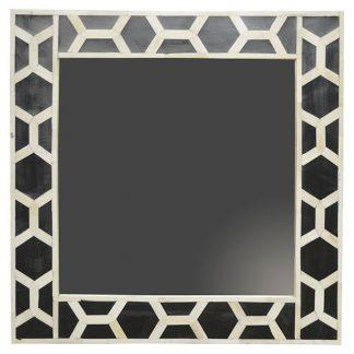 Bone Inlay Frame with Mirror