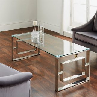 Milano Silver Coffee Table
