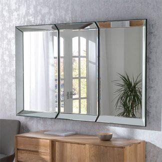 Geneva Silver Mirror