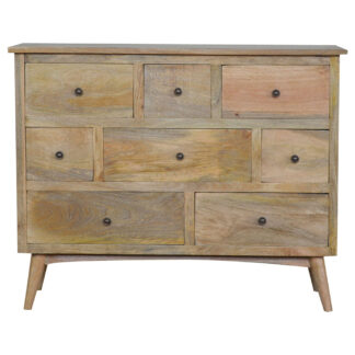 Nordic Style 8 Drawer Chest of Drawers