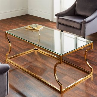 Rome Gold Coffee Table