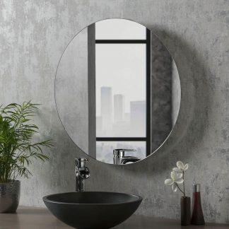 Halifax De-Fog Round Mirror