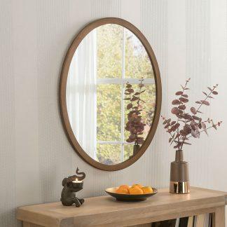 Classic Oval Bronze Mirror