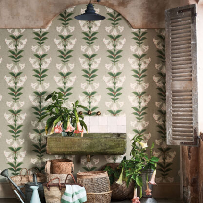 Cole and Son Angels Trumpet Wallpaper