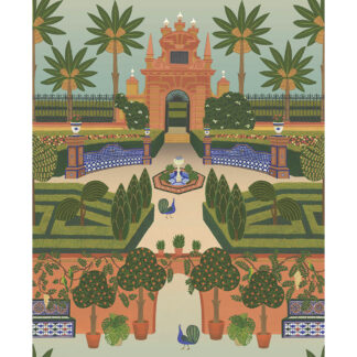 Cole and Son Seville Alcazar Gardens 117/7020 Wallpaper