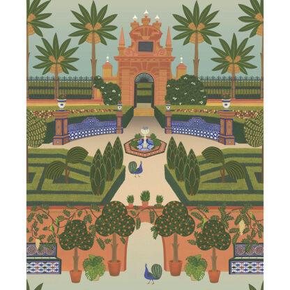 Cole and Son Seville Alcazar Gardens 117/7020 Wallpaper