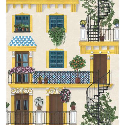 Cole and Son Seville Alfaro 117/4010 Wallpaper