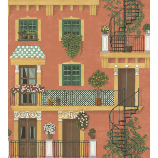 Cole and Son Seville Alfaro 117/4011 Wallpaper