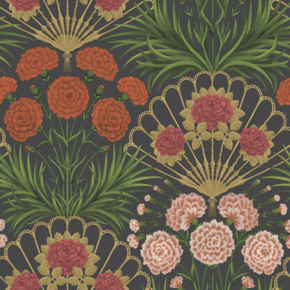 Cole and Son Seville Flamenco Fan 117/14043 Wallpaper