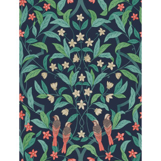 Cole and Son Seville Jasmine & Serin 117/10030 Wallpaper