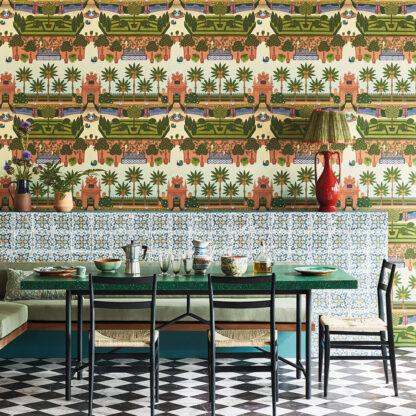 Seville Alcazar Gardens Wallpaper