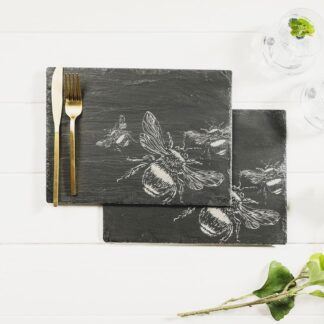 2 Bee Place Mats