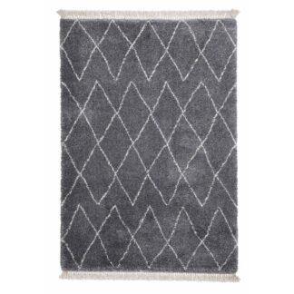 Boho 8280 Shaggy Grey Rug