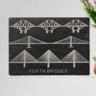 Forth Bridges Slate Cheese Board