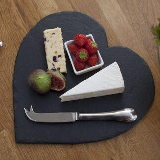 Slate Heart Cheese Board