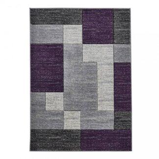 Matrix A0221 Grey/Lilac Rug