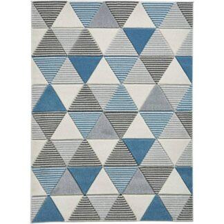 Matrix MT15 Grey/Blue Rug