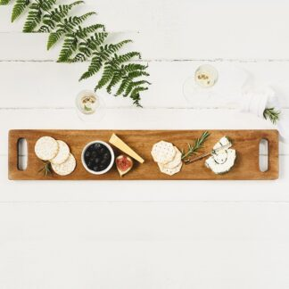 Acacia Handled Serving Board (Unboxed)