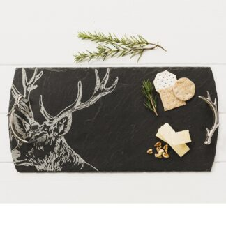 Large Stag Serving Tray