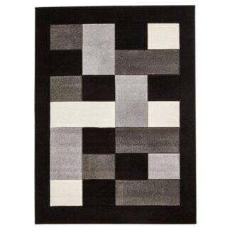 Matrix MT04 Black/Grey Rug