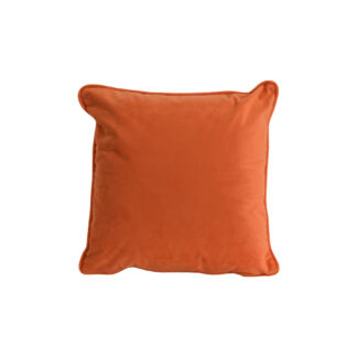 Orange Velvet Cushion 40x40cm