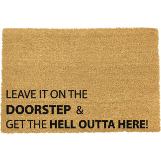 Home Alone, Leave It on the Doorstep Doormat