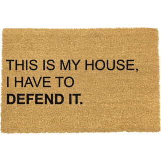 Home Alone, This Is My House, I have to Defend it Doormat