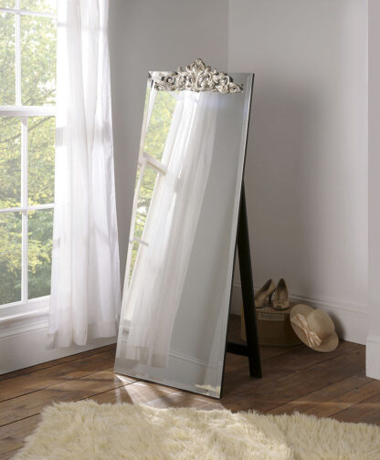 Yearn Contemporary Lombardy Cheval Mirror