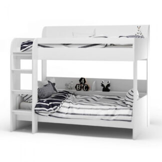 Aerial Bunk Bed - White