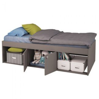 Low Single 3ft Cabin Bed - Grey