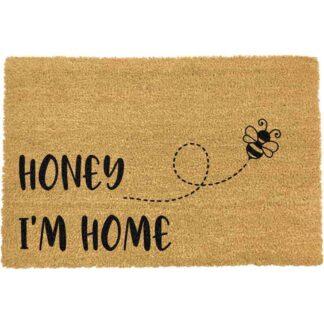 Honey I'm Home Bee Doormat