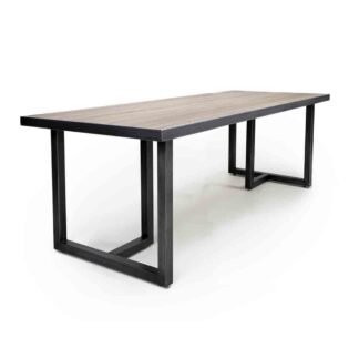 Bergen Large Industrial Dining Table