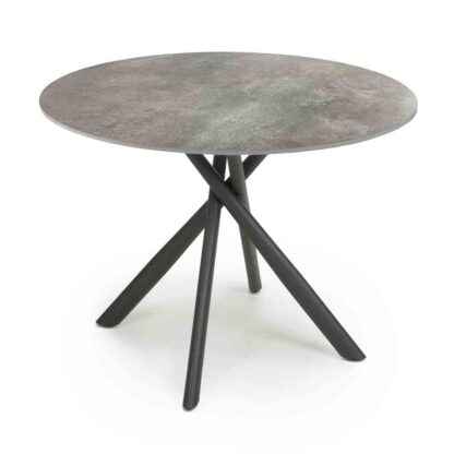 Avesta Grey Round Dining Table