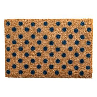 Dots Blue Doormat