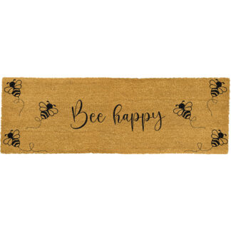 Bee Happy Bee Patio Doormat