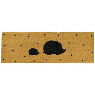 Hedgehog Spots Patio Doormat